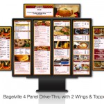 Drive Thru Menu Board Add-Ons Wings