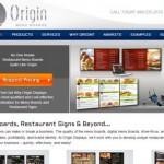 Origin Menu Boards