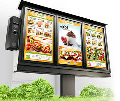 Drive Thru Menu Boards for QSR Industry